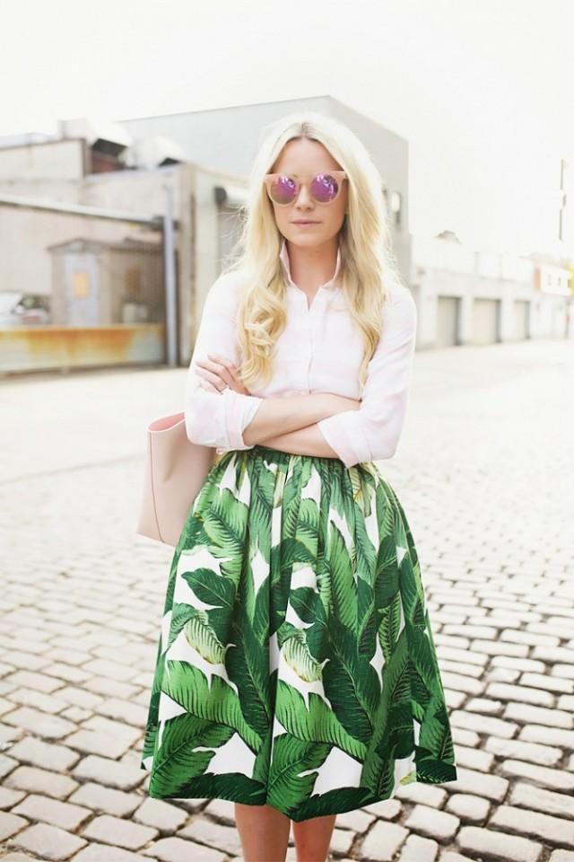 jupe-palmier | On aime d'amour
