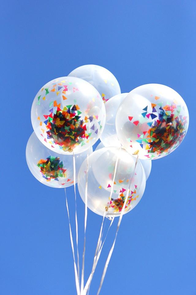 Confetti-Ballon