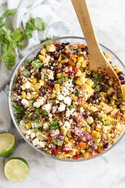 Salade quinoa et maïs | On aime d'amour