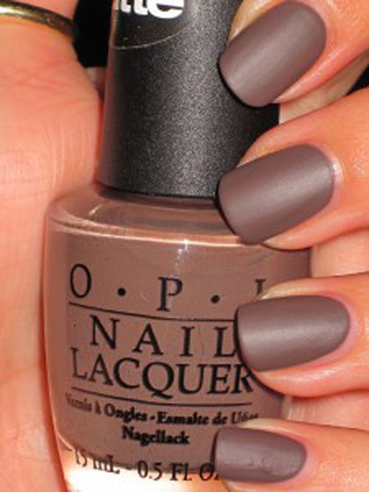 ongle taupe mat-onaimedamour